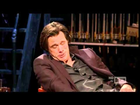 Jim Carrey imitating James Dean