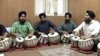 Professional Tabla Players Group Performing Part 1 Ustad Jogindar Singh