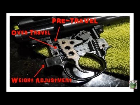 Umarex/Beeman QB CHIEF Trigger Pull Adjustments