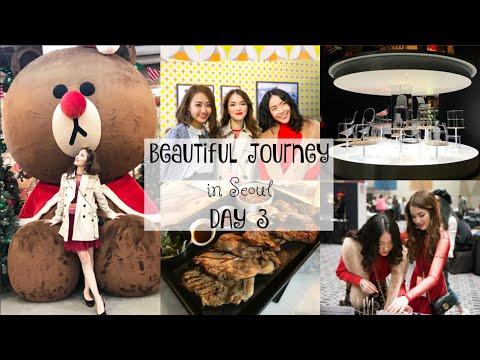 Đến Line Friends Store ở Itaewon & D Museum ✿ CHARIS Beautiful Journey in Seoul DAY 3 | mattalehang