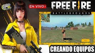 🔴 Free Fire - Battlegrounds - Desesperados por la nueva Actualización - Armando Equipos