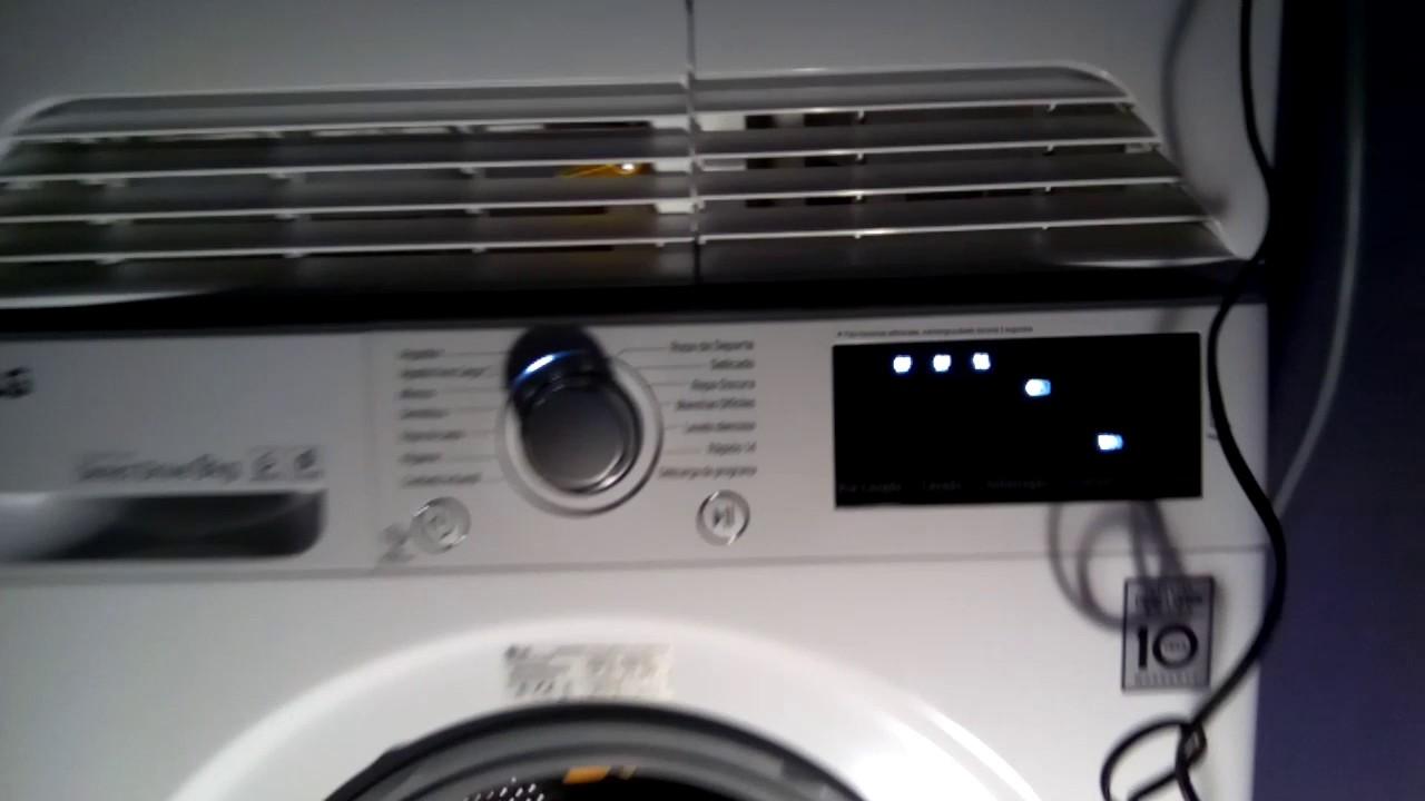 mayor selección de super servicio mayor selección Nueva lavadora lg inverter direct Drive 9 kg con turbo wash 1200 rpm error  DE1 puerta abierta