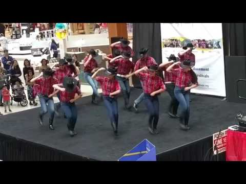 Performance  Dance Academy of Mexico at Southridge Mall