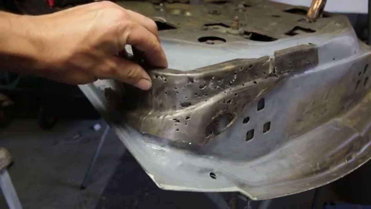 Repairing Rust On Bottom Of Car Door