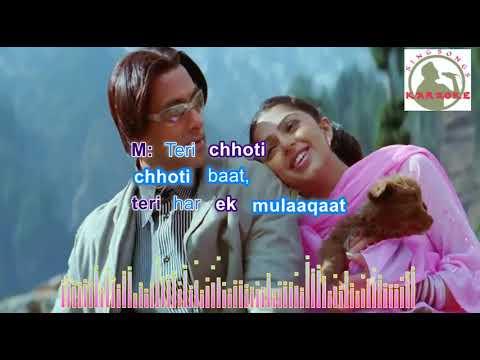 tumse milna baatein karna  Hindi karaoke for Male singers with  lyrics