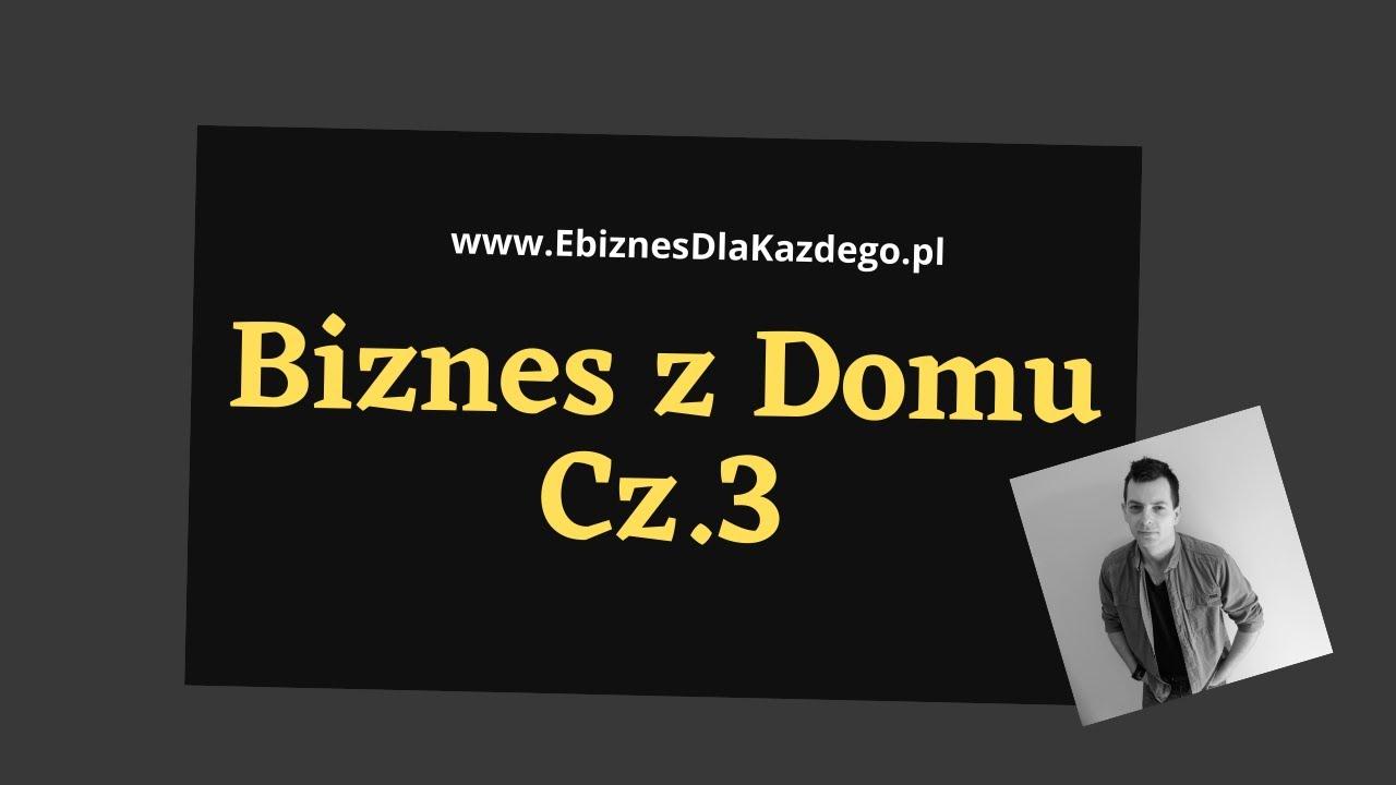 Biznes z Domu Cz. 3 - Prosta Metoda Promocji Biznesu MLM oraz Gotowe Lejki Sprzedażowe...