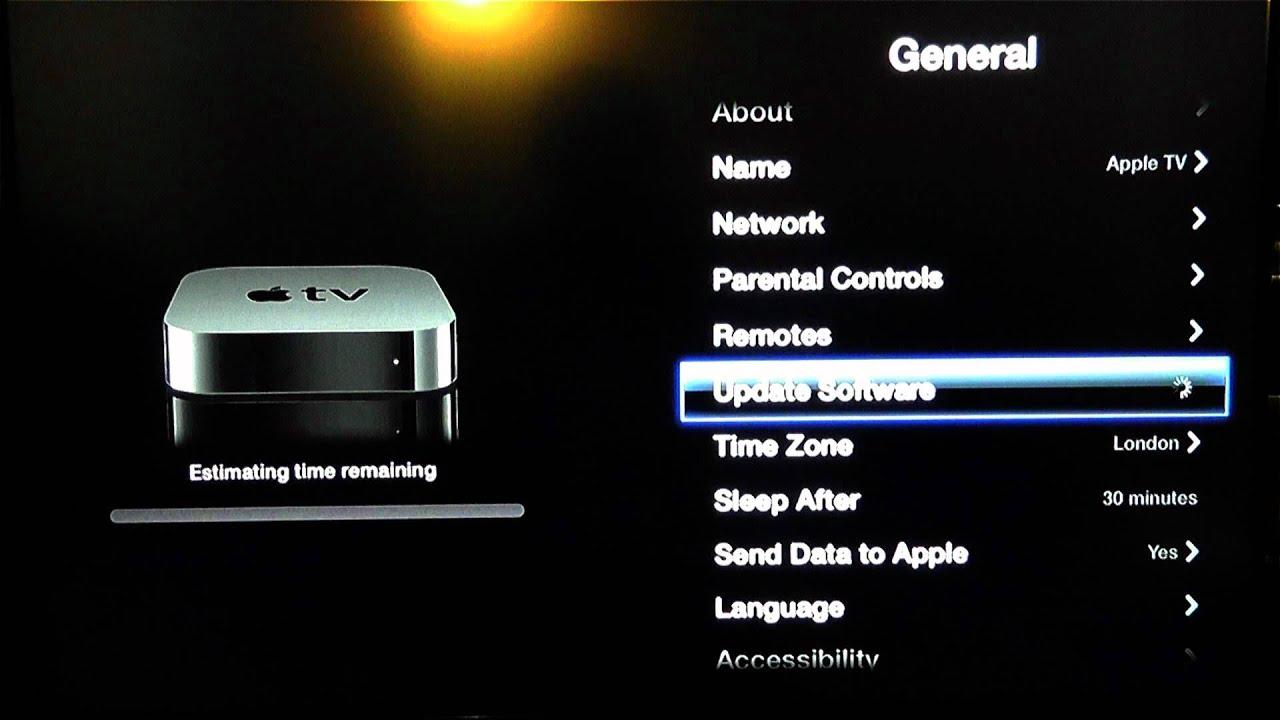 updating apple tv