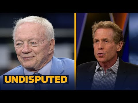 Skip Bayless reacts to Jerry Jones' comments on Zeke's reinstated 6-game suspension   UNDISPUTED