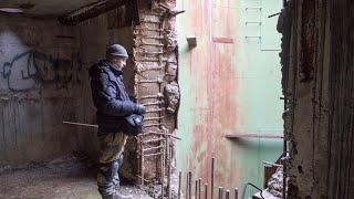 НЕ ПОВТОРЯТЬ !!! Заброшенный 3-х этажный подземный бункер. Часть 2: этаж 2 и 3. СТАЛК