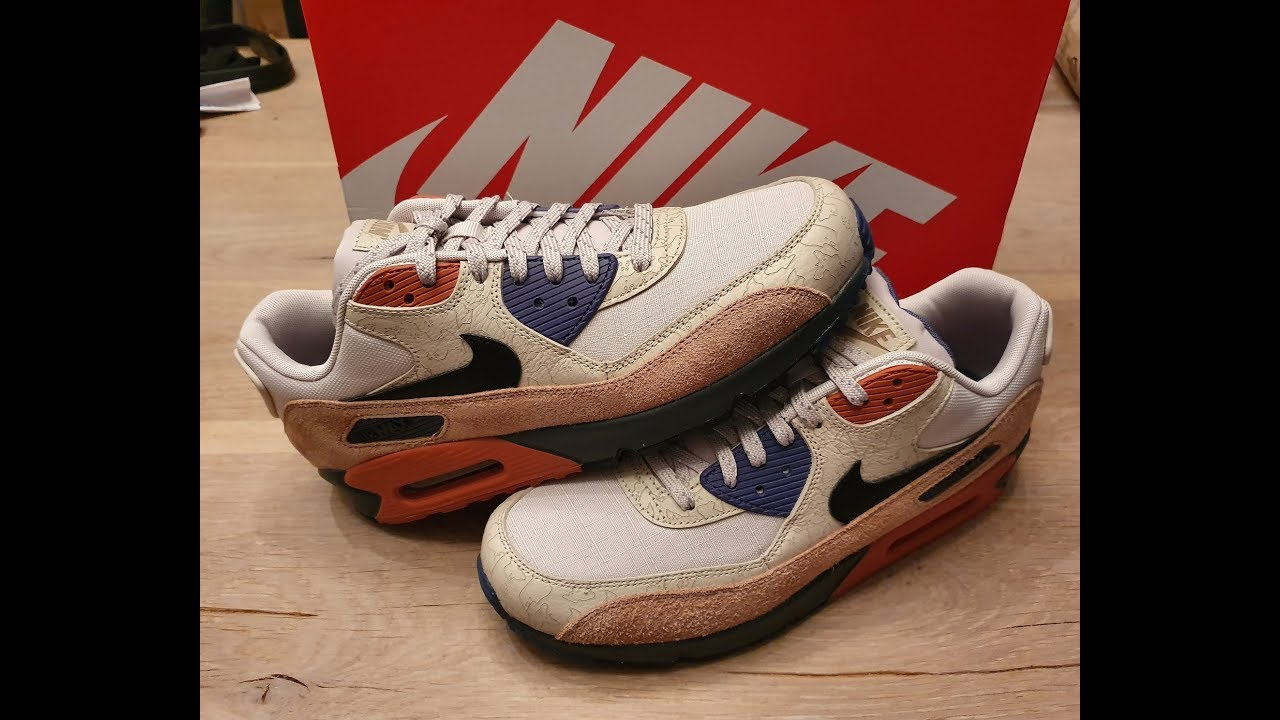 NIKE Air MAX 90 NRG Camowabb CI5646 001 – Sneakercollection