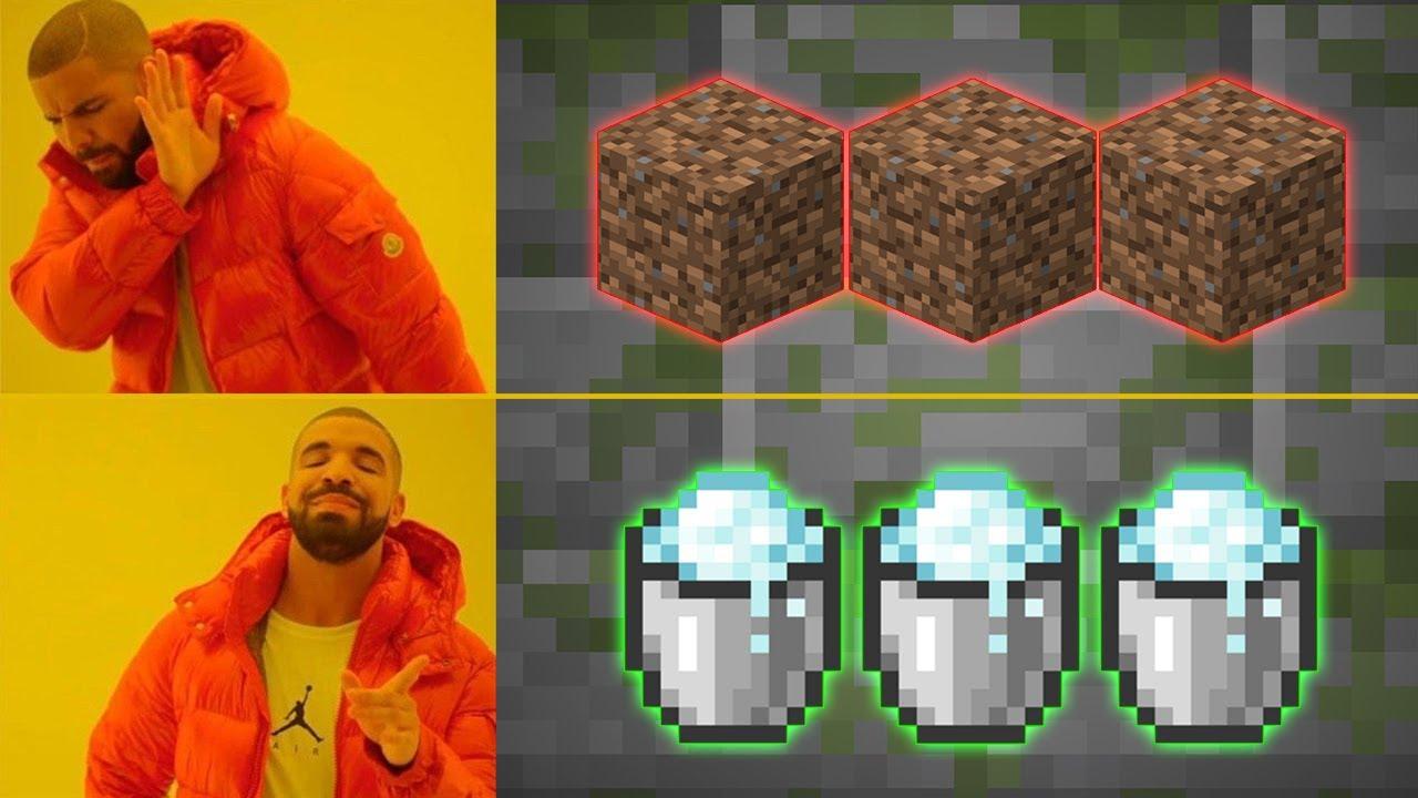 TRIK, który zmieni WSPINACZKĘ w Minecraft 1.17 #Shorts