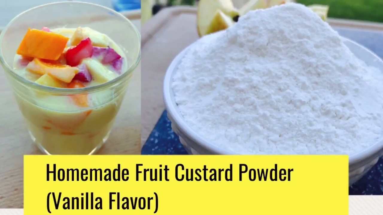 How easy and simple to make custard