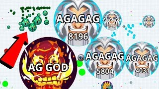 Agar.io Solo Savage Epic Take Over Pro Dominating Agar.io Mobile Gameplay