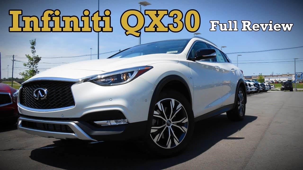 infiniti qx30 full review premium sport u0026 luxury