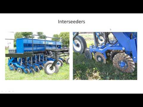 Equipment Options for Interseeding Cover Crops