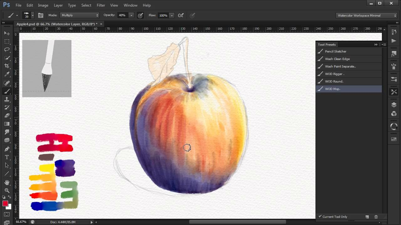 photoshop demos