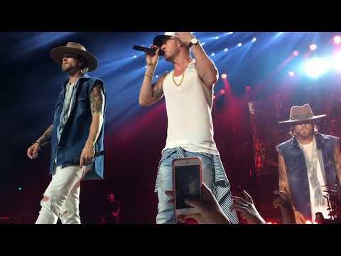 Florida Georgia Line- Feat: Nelly- Chris Lane- Ryan Hurd- Aug 05, 2017- Bristow, VA- Video 1 of 4