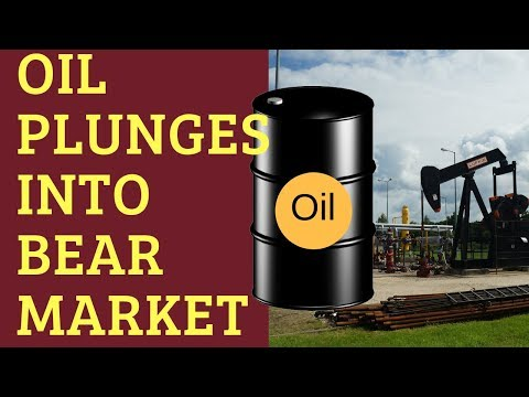 Crude Oil Plunges Into Bear Market | WTI Crude Technical Analysis