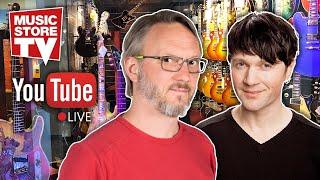 Music Store Live - Q&A Custom Shop Gitarren mit Gregor & Alex