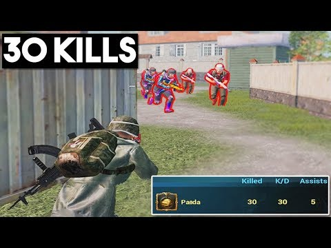 30 KILLS IN NEW GAME MODE | DEATHMATCH | PUBG Mobile 🐼