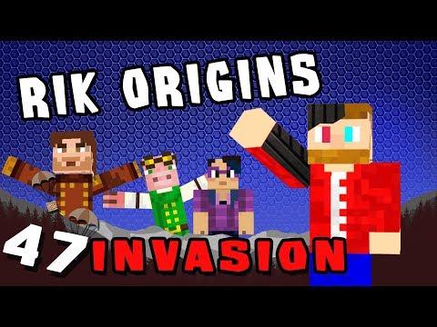 Minecraft: Invasion - #47 - Rik Origins (Modded Minecraft)