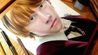 Drawing Ron Weasley
