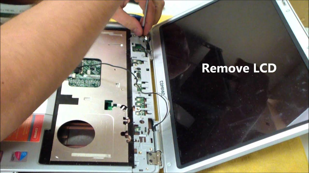 Compaq Presario V2000 Dc Power Jack Repair Youtube