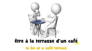 French expressions and verbs with translations # From A to G