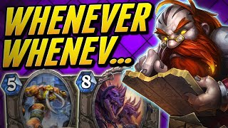 When Everything Triggers You | Whenever Priest | Wild Hearthstone Saviors of Uldum