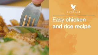 Healthy Chicken and Rice | Forever Living UK & Ireland
