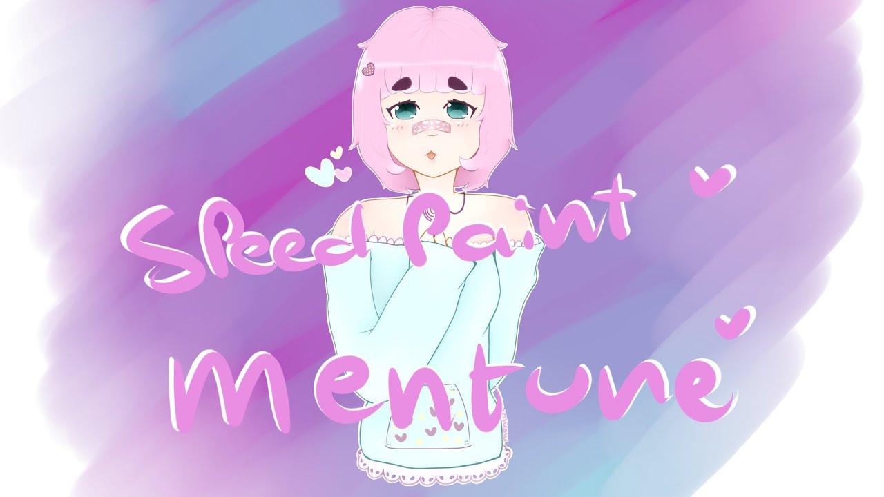 Mentune Fairy Kei Girl Speedpaint