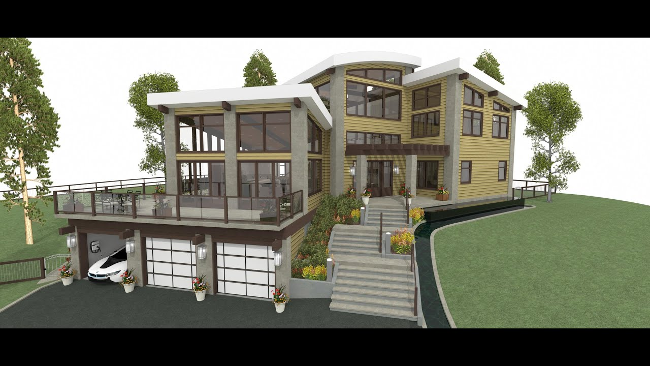 1 main floor plan breckenridge home design youtube for Architect design house plans