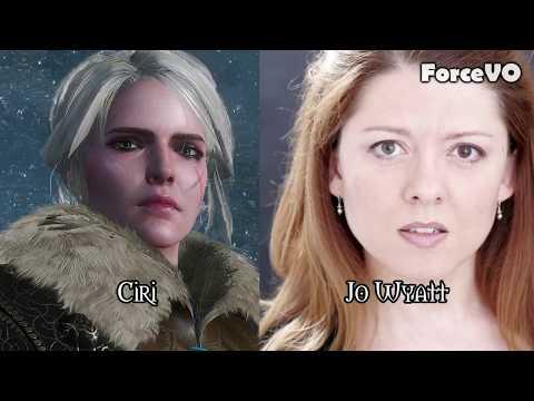 The Witcher 3  Voice Cast
