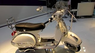 2014 Vespa PX 125 Scooter Walkaround - 2013 EICMA Milano Motorcycle Exhibition