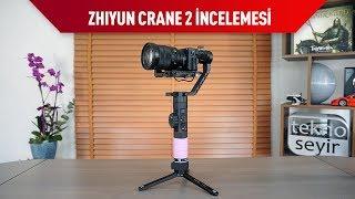 Zhiyun'un Crane 2 sistemi, ağır Canon makineleri taşıyacak şekilde tasarlanmış. Buna ek olarak, yine desteklenen modellerde, follow focus özelliği de gimbal ...