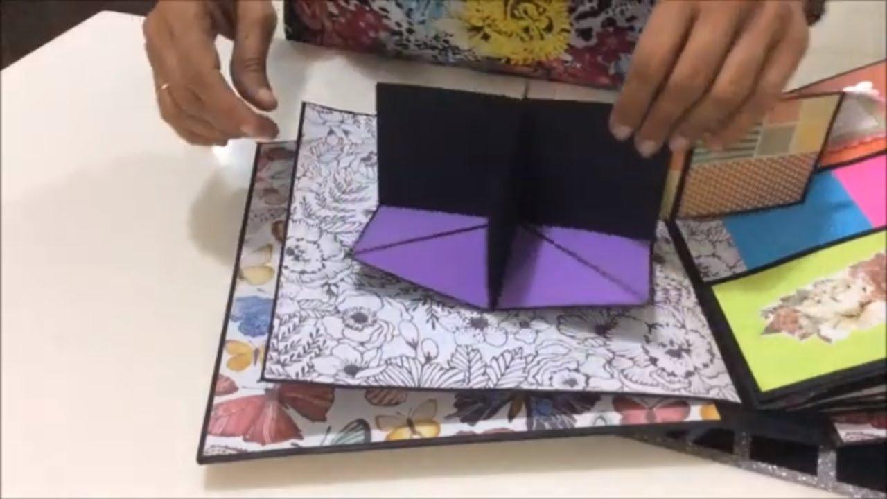 Diy Scrapbook Ideas For Friend Best Handmade Gift For Birthday Diy Gift Ideas Cute Scrapbook Youtube
