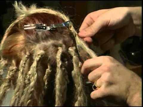 Пошаговое плетение афрокосичек зи-зи в картинках