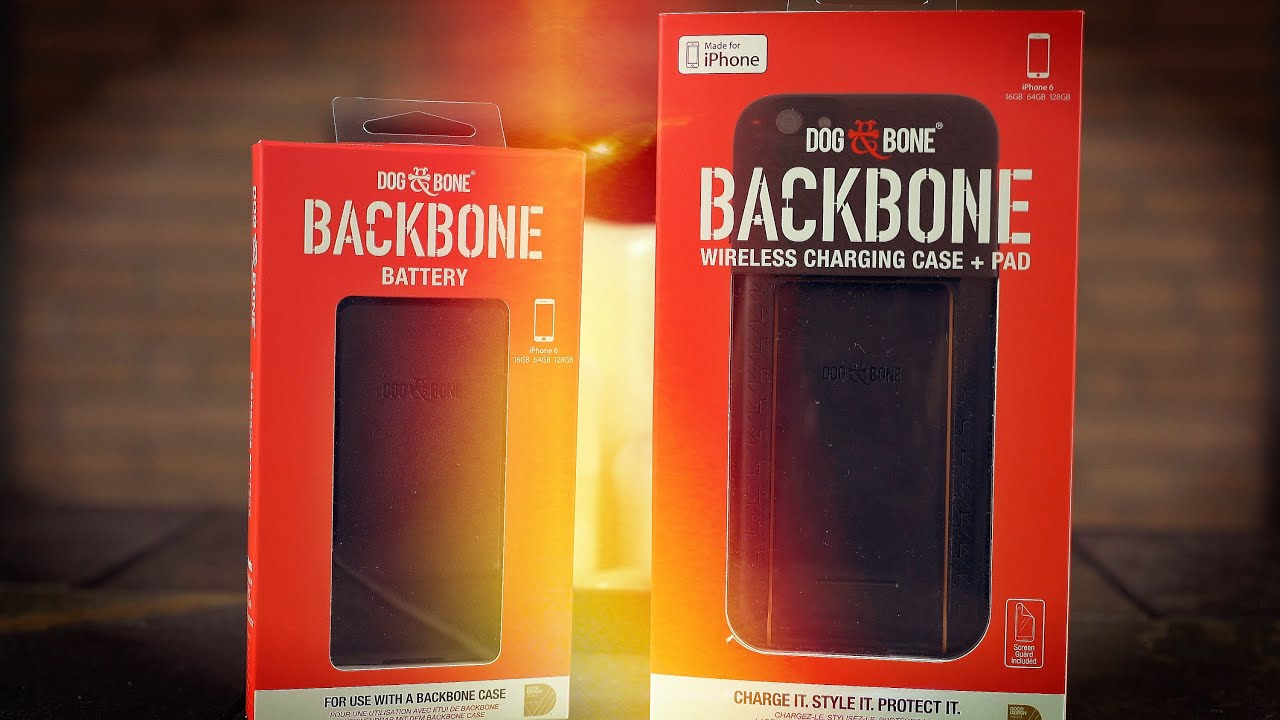 pretty nice 07d1c 5365a Best Wireless Charging Combo For The iPhone 6? Dog & Bone BackBone Review