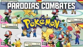 LAS MEJORES PARODIAS Y ANIMACIONES DE COMBATES POKEMON EN ESPAÑOL - RECOPILACION / MARATON
