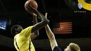 Recap: Bol Bol's game-high 20 points, four blocks leads Oregon men's basketball over San Diego