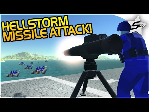 """HELLSTORM MISSILE ATTACK!"" - NEW GUIDED MISSILES! - NEW Ravenfield Map UPDATE - Ravenfield Gameplay"