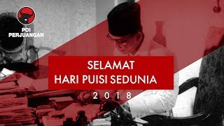 Download Video Selamat Hari Puisi Sedunia 2018 MP3 3GP MP4