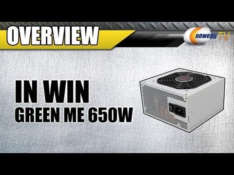 Newegg TV: IN WIN GreenMe 650W 80 PLUS BRONZE Certified Power Supply Overview