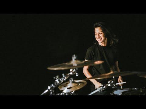 Ray Prasetya ( drum cam ) with Agnezmo
