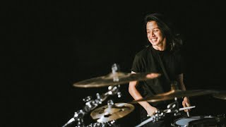 Ray Prasetya ( drum cover ) with Agnezmo