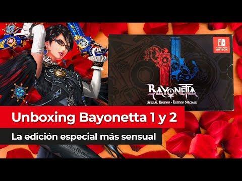 ¡Éxtasis máximo con nuestro unboxing de Bayonetta Special Edition!    Nintendo Switch