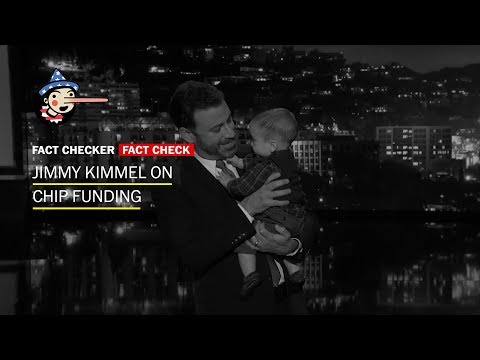 Download Youtube: Fact Check: Jimmy Kimmel's monologue on CHIP