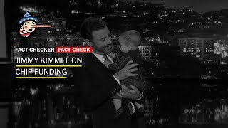 connectYoutube - Fact Check: Jimmy Kimmel's monologue on CHIP
