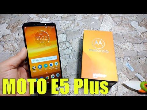 Знакомство с Motorola MOTO E5 Plus (4/64gb) Распаковка и краткий обзор