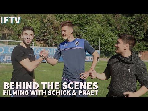 Behind The Scenes with Patrik Schick & Dennis Praet || The Journey Vlog #4